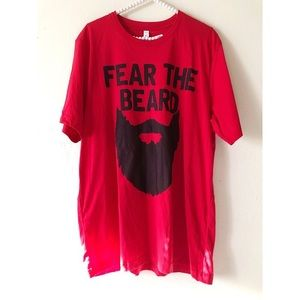 BELLA + CANVAS Men's Fear the Beard Tee | Sz XL